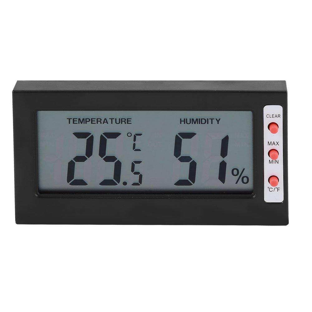 Medidores de Temperatura y Humedad Digital Pantalla LCD