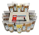 vegan dehydrated food - Harmony House Foods, Backpacking Soup & Chili Kit, 1 Cup Zip Pouches