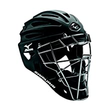 Mizuno G4 Samurai Catcher's Helmet, Black