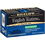 Bigelow Decaffeinated English Teatime Tea 20-Count Boxes (Pack of 6), 120 Tea Bags Total. Caffeinated Individual Black Tea Bags, for Hot Tea or Iced Tea, Drink Plain or Sweetened with Honey or Sugar
