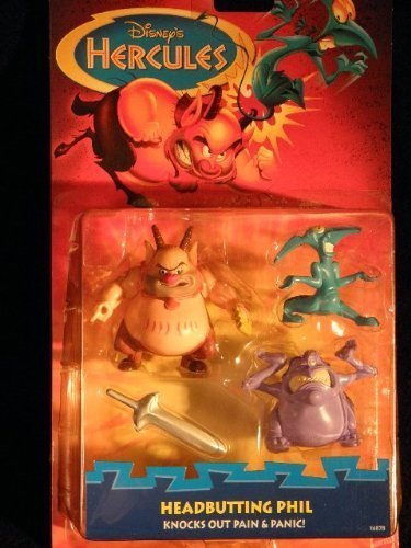 Mattel Disneys Hercules Headbutting Phil 16878
