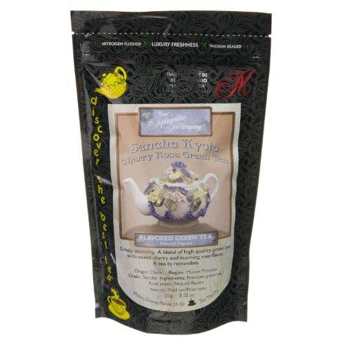 (Metropolitan Tea Discovery Loose Tea Pack, Kyoto Cherry Rose Flavored Green,)