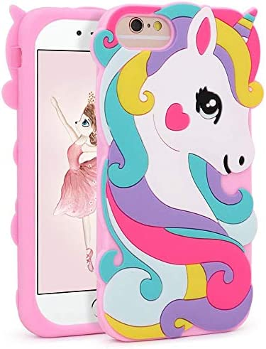 Unicorn Silicone Character Animated Protective product image