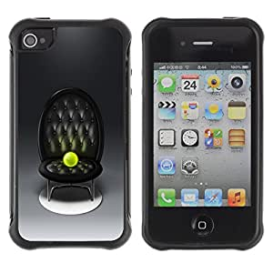 CAZZ Rugged Armor Slim Protection Case Cover Shell // Tennis Ball Altar // Apple Iphone 4 / 4S