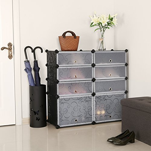 building shoe cabinet songmics diy shoe rack plastic shoe storage organizer cabinet with
