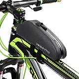 Docooler Lixada Bike Bag Top Tube Bag Front Tube Frame Bag Waterproof Bicycle Bag Bike Storage Bag Cycling Front Frame Pouch