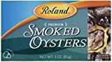 Roland Smoked Oysters, 3 oz