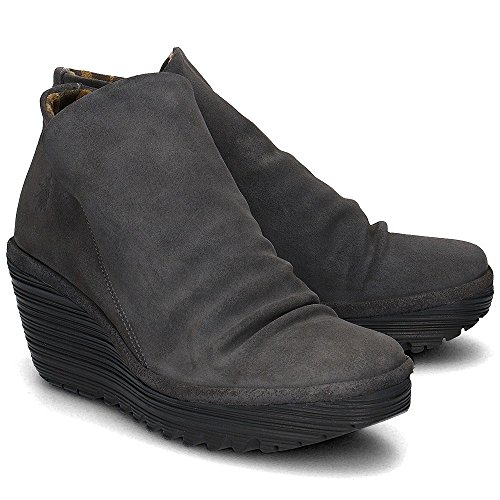 Fly London Donna Yip Boot 035 Suede Olio Diesel