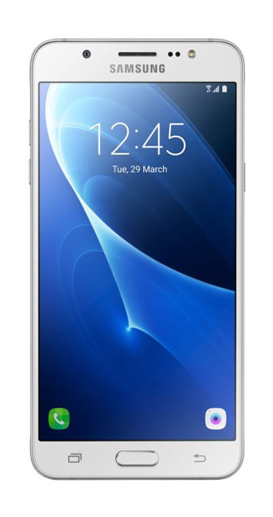 Samsung Galaxy J7 LTE 2016 J710M/DS 16GB, 5.5-Inch Dual SIM Factory Unlocked Phone - International Version (White) by Samsung (Image #1)