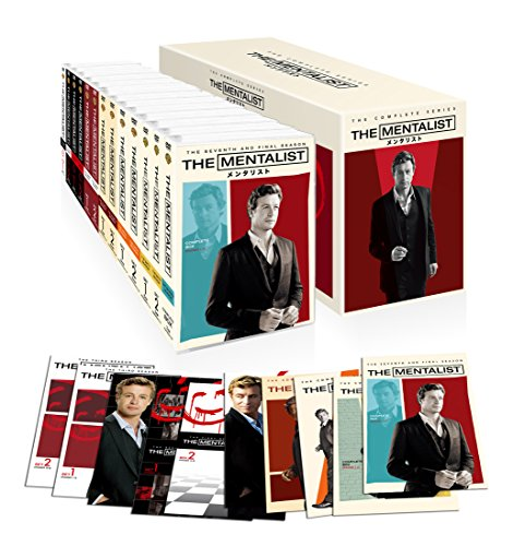 THE MENTALIST / メンタリスト<コンプリート・シリーズ>DVDボックス (75枚組)