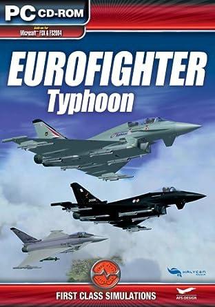 Amazon com: Eurofighter: Typhoon Add-On for FS 2004/FSX (PC