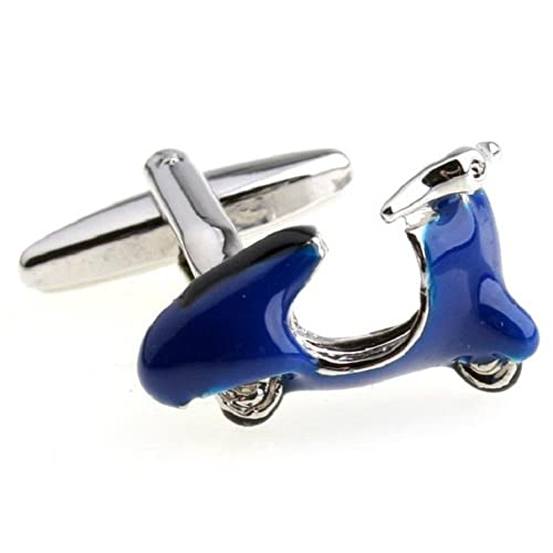 Amazon.com: albetro Azul Vespa Scooter Gemelos para los ...