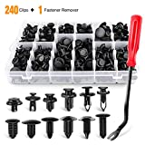 GOOACC GRC Clips, 240PCS Retainer Clips + Fastener Remover