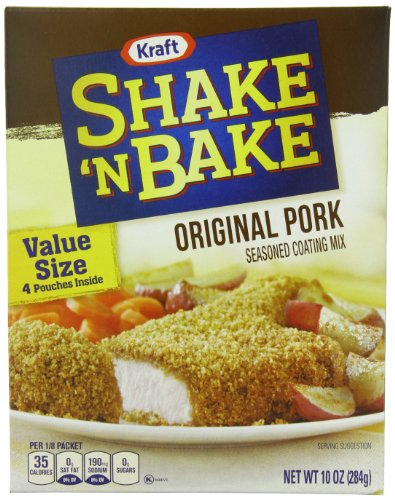 (Shake 'N Bake Original Pork Seasoned Coating Mix (10 oz Boxes, Pack of 12))