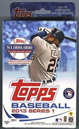 2013 Topps Series 1 MLB Baseball Exclusive Factory Sealed Huge Hanger Box