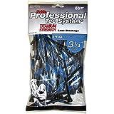 Pride Professional Tee System 3-1/4-Inch Titanium Strength Wood Golf Tee, Black