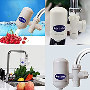 LifBetter Home Kitchen Cleanable Ceramic Cartridge Faucet Tap Water Clean Filter Environment-friendly Water Purifier