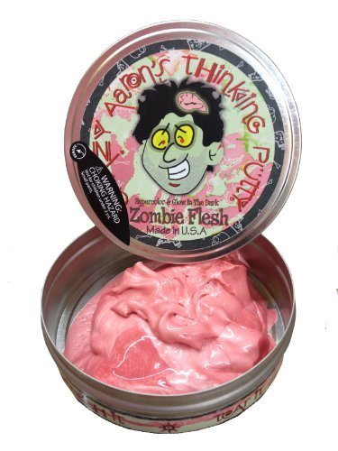 (Crazy Aaron's Thinking Putty - Zombie Flesh - Stress Relief Sensory Toys - Non Sticky Fun for Ages 3 and Older)