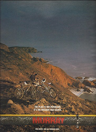 MAGAZINE AD For 1990 Murray Fox River Bicycles The Place Is Not Important