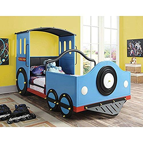 Coaster 400411 Home Furnishings Train Bed, Twin, Blue Review