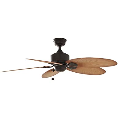 Amazon hampton bay lillycrest 52 indooroutdoor aged bronze hampton bay lillycrest 52quot indooroutdoor aged bronze ceiling fan model 32711 mozeypictures Images