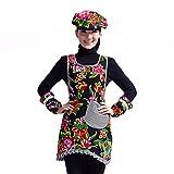 DXG&FX home kitchen apron sleeveless apron work clothes-E