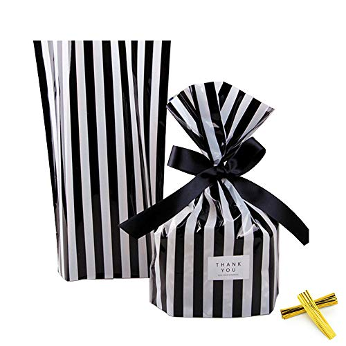 ZOOYOO Black Stripes Plastic cellophane product image