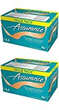 Assurance Premium Washcloths Value Pack 144 Count Carton (2-Carton Multipack 288 Washcloths Total)