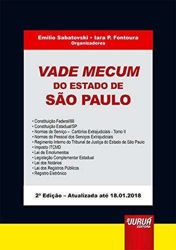Vade Mecum do Estado de São Paulo