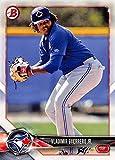 2018 Bowman Prospects #BP150 Vladimir Guerrero Jr. Toronto Blue Jays Baseball Card