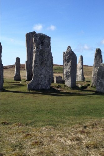 Callanish Standing Stones Scotland Journal: 150 Page Lined Notebook/Diary