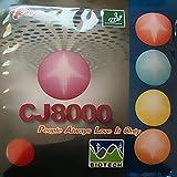 Palio CJ8000 BIOTECH 36-38° 2-Side Loop Type Pips In Table Tennis Rubber Sheet