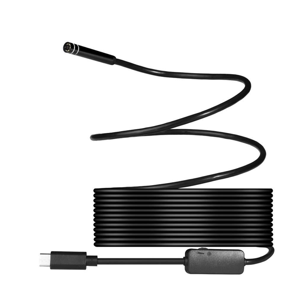 Huiouer Endoskop-Inspektionskamera USB Typ C PC 5,5 mm flexibel