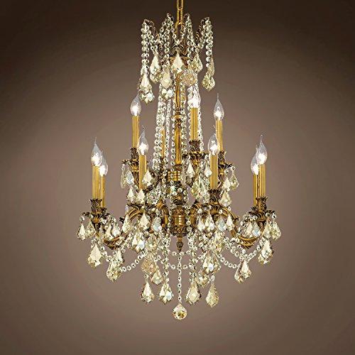 Versailles Crystal Twelve Light - Traditional Versailles 12 Light 24