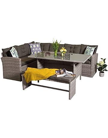 09068a96b579 10% off Yakoe Rosen Range 9 Seater Outdoor Rattan Garden Furniture Corner  Dining Set with