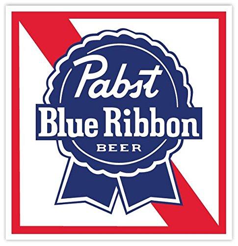 pabst-blue-ribbon-beer-vinyl-sticker-decal-4x4-car-bumper-laptop-toolbox