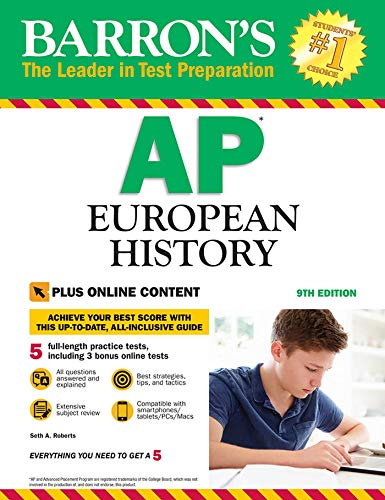 Pdf Teen Barron's AP European History with Online Tests
