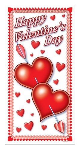 Valentine Door (Happy Valentine's Day Door Cover 30in. x 5ft Pkg/1)