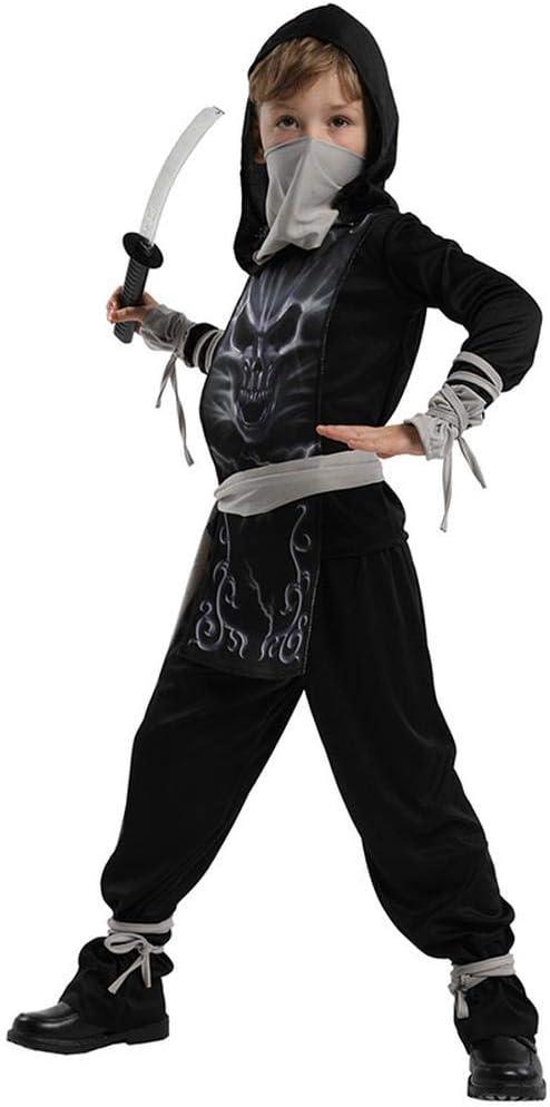 Disfraz De Samurai para Niños Cosplay Disfraz De Ninja Masculino ...