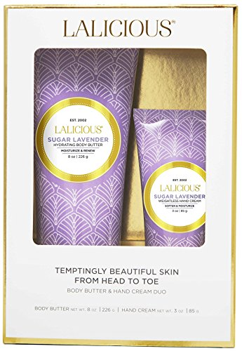 LALICIOUS - Sugar Lavender Body Butter & Hand Cream Duo ()