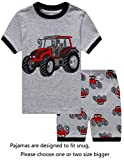 IF Pajamas Little Boys Snug-Fit Pajamas 100% Cotton Grey Pjs Clothes Kid 4T