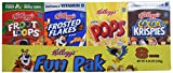 Kellogg's Fun Pack Cereal, 8 ct, 1.07 oz each