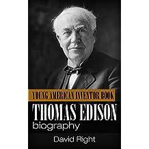 Thomas Edison biography young american inventor book