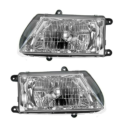 Isuzu Rodeo Headlamp - Headlights Headlamps Left & Right Pair Set for 03-04 Isuzu Rodeo
