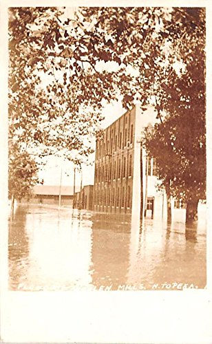 ka, Kansas postcard (1908 Flood)