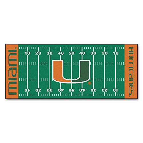 University of Miami Football Field Runner 30