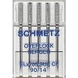 5 Pk. Schmetz ELX705CF Chrome Finish Overlock
