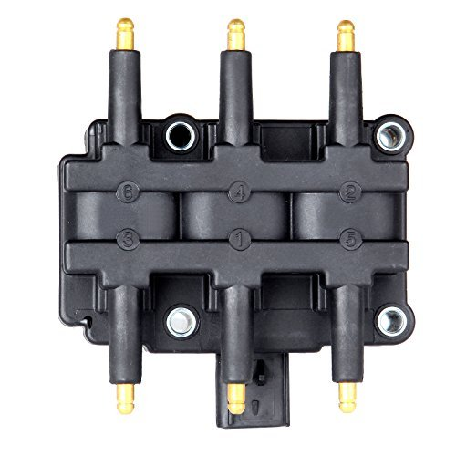 ECCPP Ignition Coil Pack of 1 Compatible with Chrysler Pacifica/Town Country/Voyager Dodge Caravan/Grand Caravan Jeep Wrangler 2000-2011 Replacement for UF305 C1442 69531679