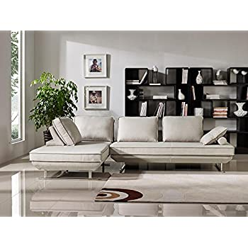 Amazon.com: Deon 2PC Lounge Sofa Platforms with Moveable ...