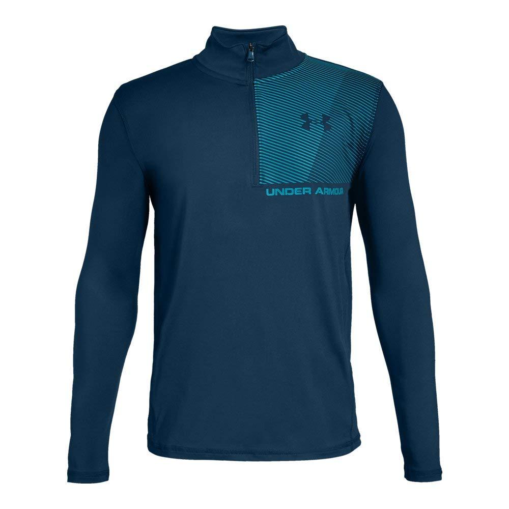 Under Armour Boys' Raid 1/4 Zip Long-Sleeve Shirt